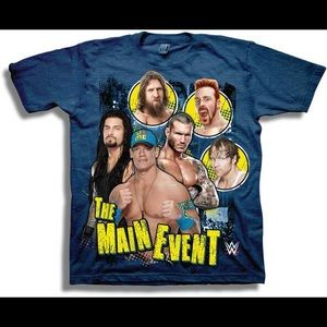 Other - WWE The Main Event Youth Boys Blue Tee Shirt